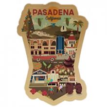image of Pasadena Die Cut Sticker