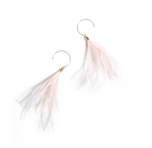 Image of Pink Vivi Earrings