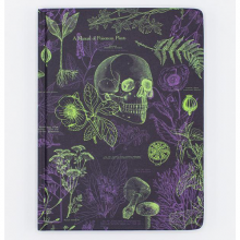 image of Poisonous Plants Hardcover Lined/Grid Journal front