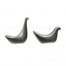 Image of Reactive Glaze Metallic Birds