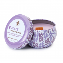 Image of Relax Candle Traveler Tin