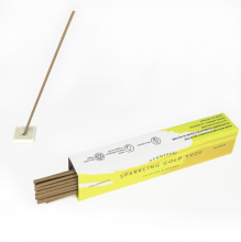 Sparkling Gold Yuzu Incense Sticks
