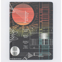 image of Sun Spectra Hardcover Lined/Grid Journal front