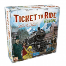 image of Ticket to Ride Europe game