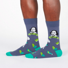 Image of To Be, Or Not To Be Men's Crew Socks