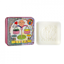 Image of Libra Soap Tin and Soap Bar