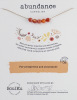 Image of Abundance Intention Necklace Package