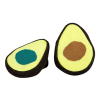 Image of Avocado Socks, Folded