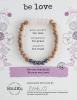 Image of Be Love Rose Quartz Bracelet Package