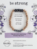 Image of Be Strong Onyx Bracelet Package