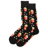 Image of Black Popcorn Men's Crew Socks