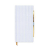 image of Blue Pinstripe Journal with Pen