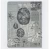 image of Brain Anatomy Hardcover Dot Grid Journal back