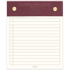 image of Burgundy Standard Issue Notepad