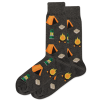 Image of Camping Charcoal Men's Crew Socks