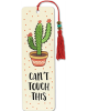 image of Can't Touch This Beaded Bookmark