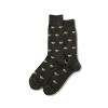 Image of Charcoal Martini Men's Crew Socks