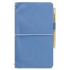 image of Cornflower Blue/Birdie Vegan Leather Folio cover