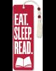 Eat Sleep Read Beaded Bookmark