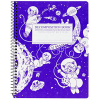 image of Kittens in Space Coil Decomposition Notebook