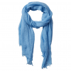 Image of Light Blue Classic Soft Solid Scarf