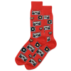 Image of Men's Retro Music Crew Socks
