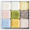 Image of gift box with nine soaps