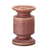 Image of Rose Stoneware Candle Holder