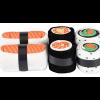 Image of Salmon Sushi Sock Set, Folded