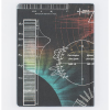 image of Sun Spectra Hardcover Lined/Grid Journal back