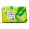 Image of Verbena Marble Soap (light and dark green marble)