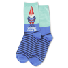Image of Women's You Don't Gnome Me Crew Socks