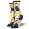 image of Yellow Rosie Womens Crew Socks
