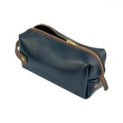 Image of Black Medium Highline Leather Pouch