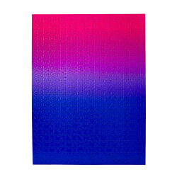 image of Blue and Pink Gradient puzzle