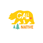 Image of California Bear with Cali Native written on it