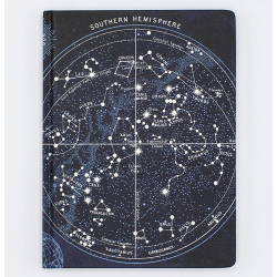 image of Constellations Hardcover Dot Grid Journal front