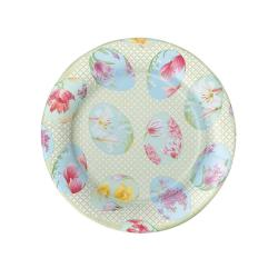 Image of Floral Decorate Dessert Plates