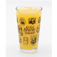 Image of Great Beards of Science Pint Glass