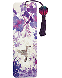 image of Hummingbird Beaded Bookmark
