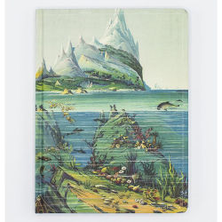 image of Hypothesis Descending Regions Hardcover Lined/Grid Journal front