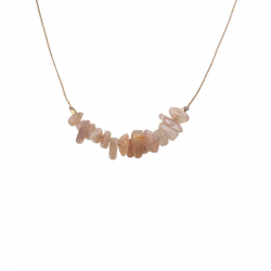 Image of Independence Sunstone Seed Necklace