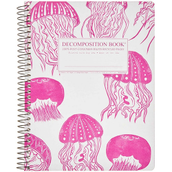image of Jellyfish Ruled Spiral Journal
