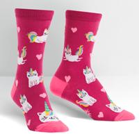 Look At Me Meow Women's Socks