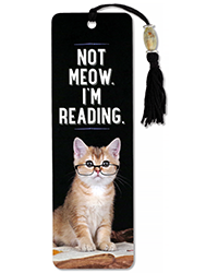 image of Not Meow Bookmark