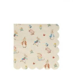 Image of Peter Rabbit & Friends Large Napkins