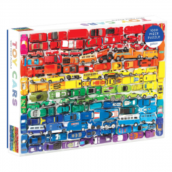 image of Rainbow Toy Cars Puzzle