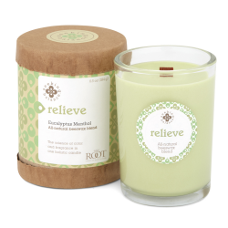 Image of Relieve Candle 6.5oz and Box