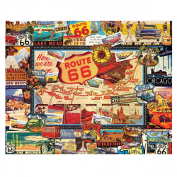 image of Route 66 Puzzle box