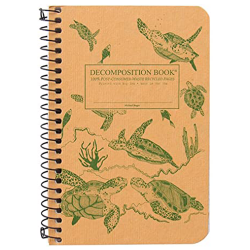 image of Sea Turtles Coil Decomposition Notebook